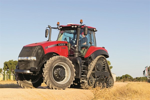 Tractor Front Track : Case ih magnum rowtrac tractor review