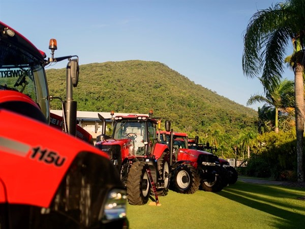 Case IH Step Up Conference Display