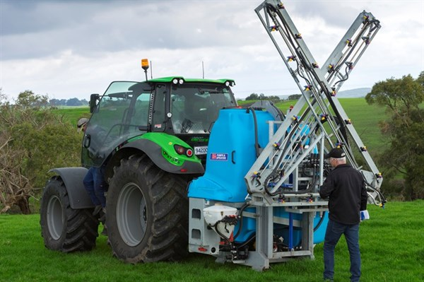 The Cropchief Linkage sprayer is robust
