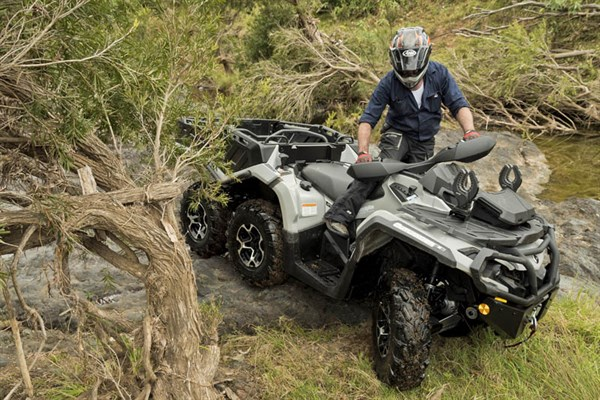 Can Am Outlander 650 Xt 6x6 Atv Review