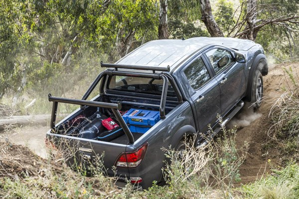 Ute Shoot Out -Mazda BT-50_ride