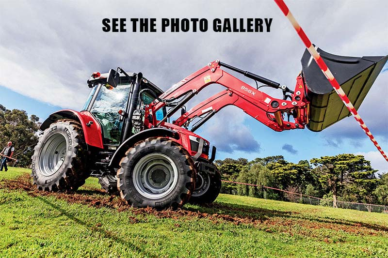 Massey Ferguson MF5609 tractor photo gallery