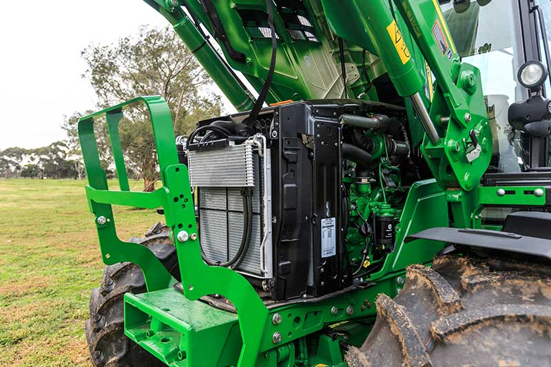 John Deere four-cylinder Power Tech E engine