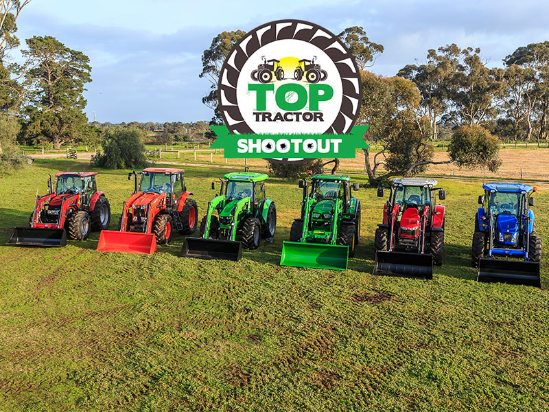 Top Tractor Shootout 2016 entrants