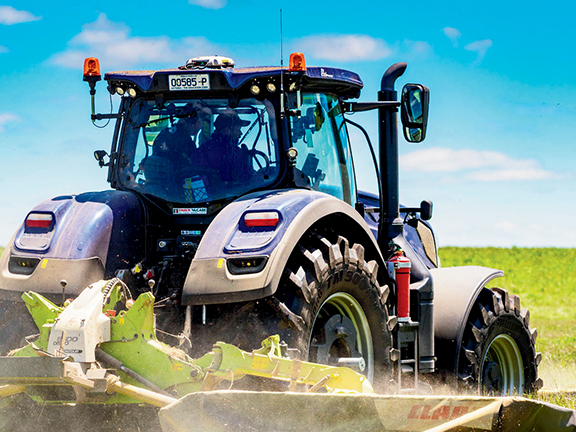 New Holland T7.315 blue power