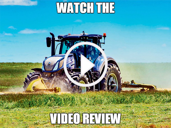 New Holland T7.315 blue power video