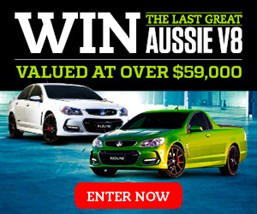 Win the last great Aussie V8