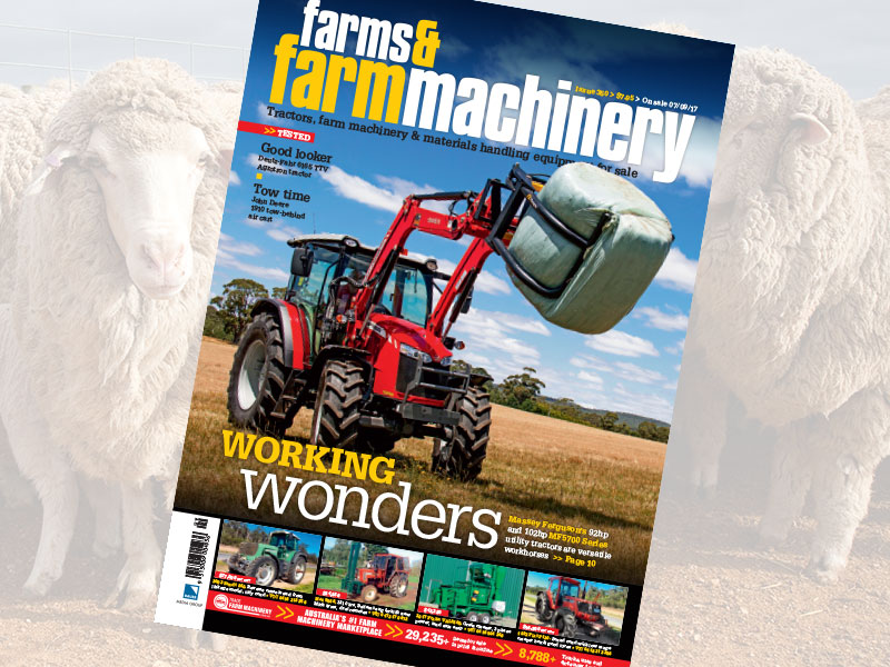 Farms & Farm Machinery magazine issue 350