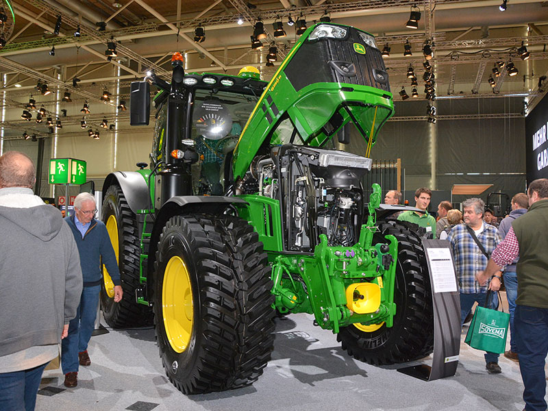 John Deere 6r Engine : Agritechnica two new tractors added to r series by