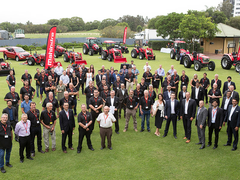 Mahindra dealers and managers