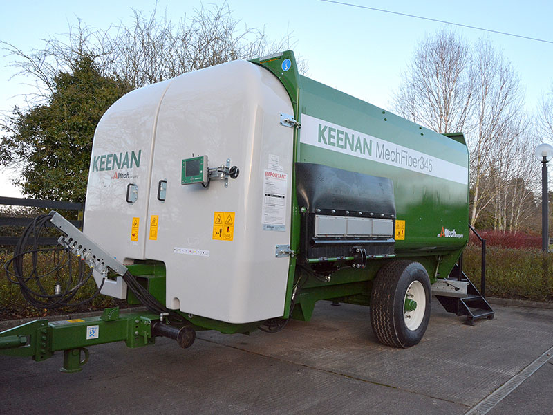 The Keenan MechFiber345 with InTouch connected