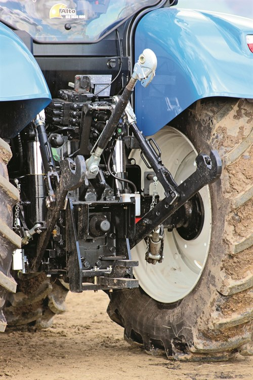 New Holland T6.160_Auto Command _PTO Linkage